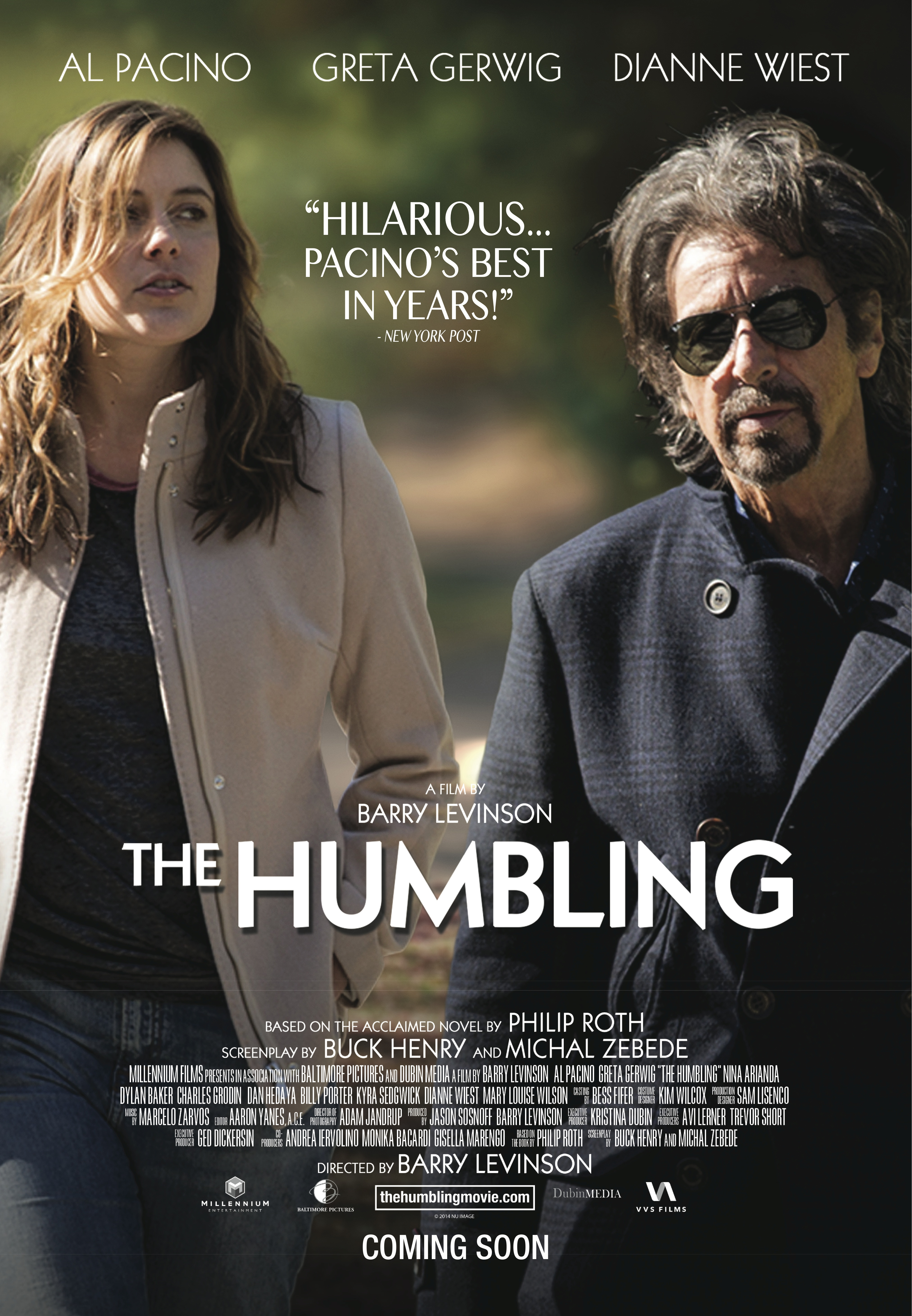 The Humbling Poster The Humbling 2014